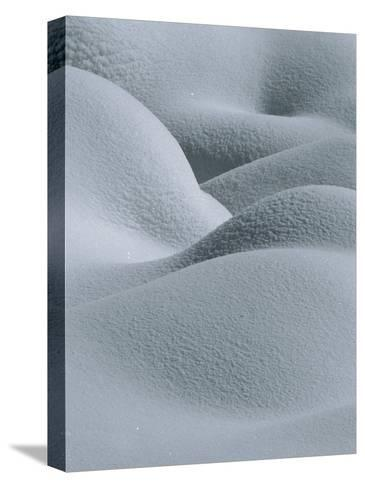 Soft, Gentle Rolling Snow Pillows-Tom Murphy-Stretched Canvas Print