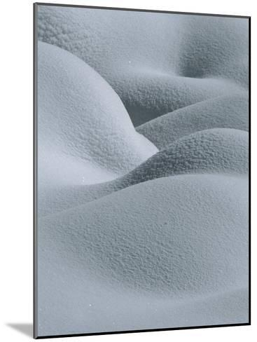 Soft, Gentle Rolling Snow Pillows-Tom Murphy-Mounted Photographic Print
