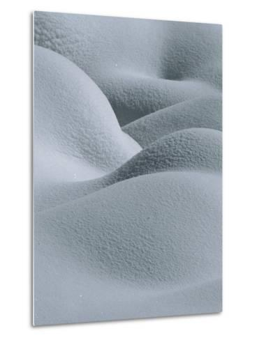 Soft, Gentle Rolling Snow Pillows-Tom Murphy-Metal Print