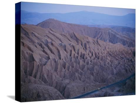 The Desert Dwarfs the One Road from Calama to San Pedro De Atacama-Joel Sartore-Stretched Canvas Print