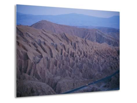 The Desert Dwarfs the One Road from Calama to San Pedro De Atacama-Joel Sartore-Metal Print