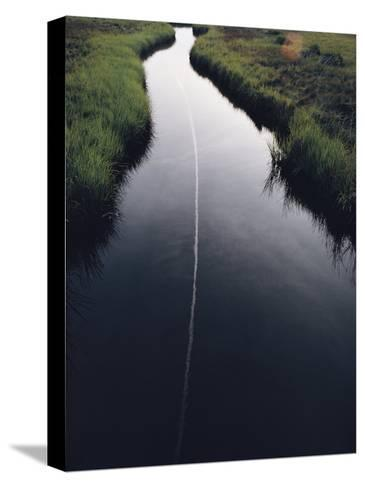 Marsh Creek-James L^ Stanfield-Stretched Canvas Print