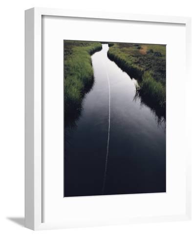 Marsh Creek-James L^ Stanfield-Framed Art Print