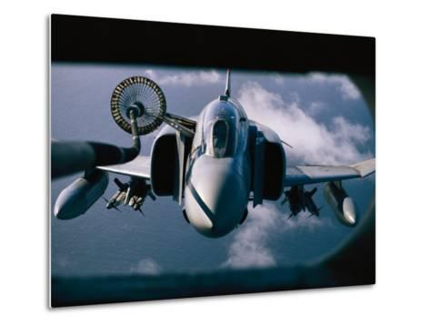 Refueling Operation over the Falklands-Steve Raymer-Metal Print