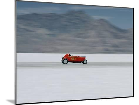 Speed Trials on the Bonneville Salt Flats-Walter Meayers Edwards-Mounted Photographic Print