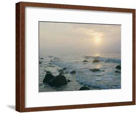 View of the Long Island Coastline-B^ Anthony Stewart-Framed Art Print