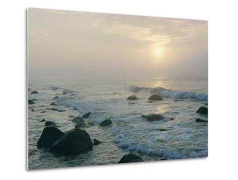View of the Long Island Coastline-B^ Anthony Stewart-Metal Print