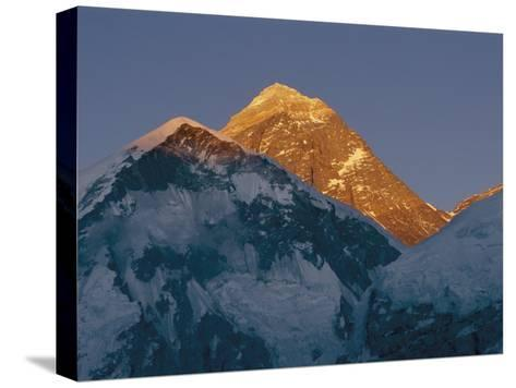 Mount Everest is Seen in the Evening Light-Bobby Model-Stretched Canvas Print