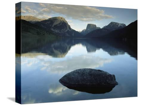 Green River Lake, Bridger-Teton National Forest, Pinedale, Wyoming-Raymond Gehman-Stretched Canvas Print