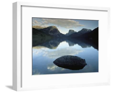 Green River Lake, Bridger-Teton National Forest, Pinedale, Wyoming-Raymond Gehman-Framed Art Print