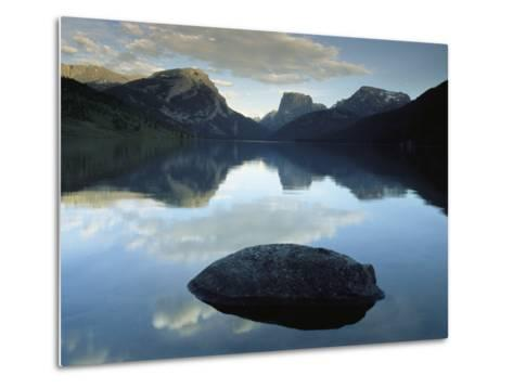 Green River Lake, Bridger-Teton National Forest, Pinedale, Wyoming-Raymond Gehman-Metal Print