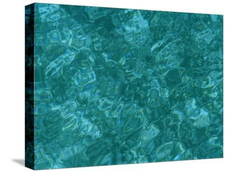 A Detail of Sun-Dappled, Clear Blue Water-Heather Perry-Stretched Canvas Print