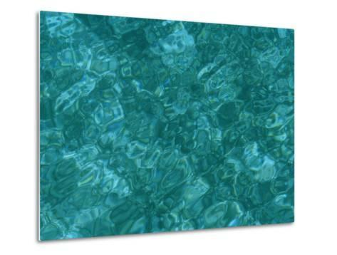 A Detail of Sun-Dappled, Clear Blue Water-Heather Perry-Metal Print