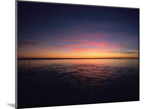 Sunset Near North Carolinas Outer Banks-Steve Winter-Mounted Photographic Print