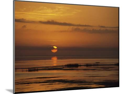 Sunset over Lake Okeechobee-Medford Taylor-Mounted Photographic Print