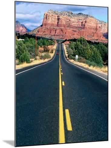 Road Into Sedona, Sedona, U.S.A.-Ann Cecil-Mounted Photographic Print