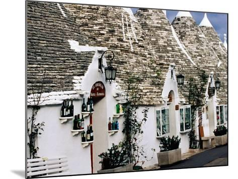 White-Washed Trulli Houses, Alberobello, Italy-Oliver Strewe-Mounted Photographic Print