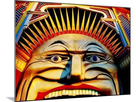 Face of Luna Park at Sunset St. Kilda, Melbourne, Australia-Richard I'Anson-Mounted Photographic Print