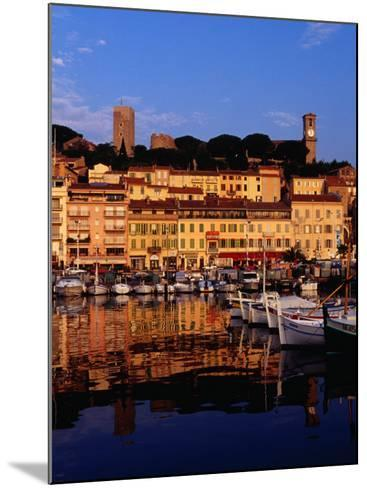 Eglise Notre Dame D'esperance Overlooking the Harbour at Dawn, Cannes, France-Richard I'Anson-Mounted Photographic Print