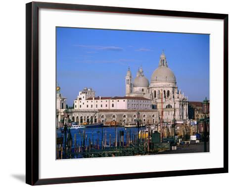 Santa Maria Della Salute, Situated Between Grand Canal and Canale Delle Zattere, Venice, Italy-Bethune Carmichael-Framed Art Print