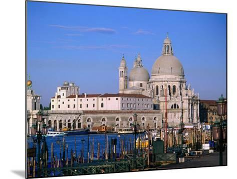 Santa Maria Della Salute, Situated Between Grand Canal and Canale Delle Zattere, Venice, Italy-Bethune Carmichael-Mounted Photographic Print