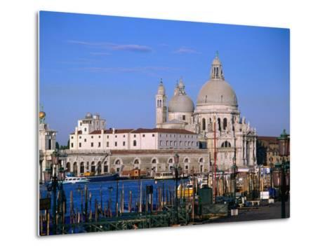 Santa Maria Della Salute, Situated Between Grand Canal and Canale Delle Zattere, Venice, Italy-Bethune Carmichael-Metal Print