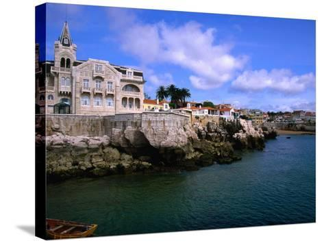 Waterfront Mansion, Cascais, Portugal-Anders Blomqvist-Stretched Canvas Print