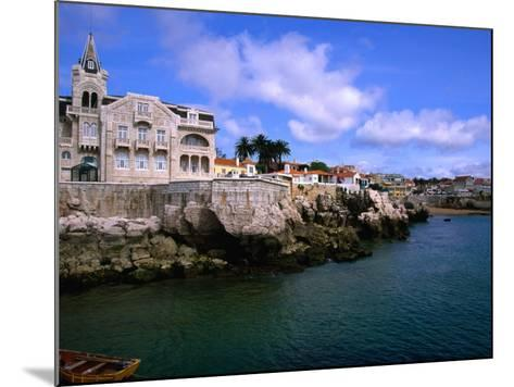 Waterfront Mansion, Cascais, Portugal-Anders Blomqvist-Mounted Photographic Print