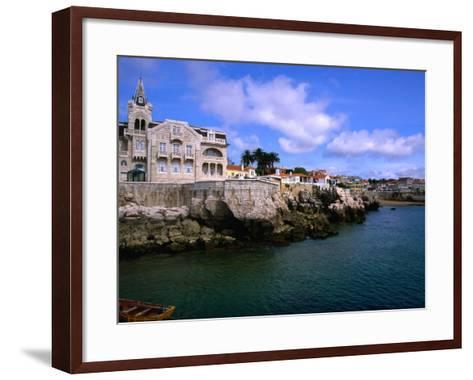Waterfront Mansion, Cascais, Portugal-Anders Blomqvist-Framed Art Print