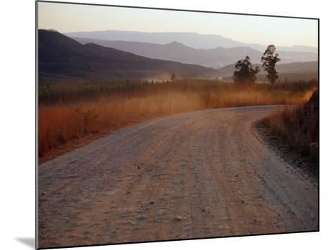 Road Between Lower Loteni and Himeville in the Southern Drakensberg Ranges, South Africa-Richard I'Anson-Mounted Photographic Print