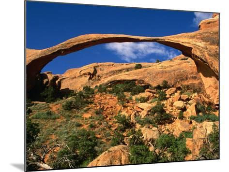 Landscape Arch, Arches National Park, Utah, USA-Carol Polich-Mounted Photographic Print