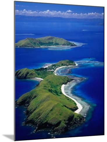 Aerial View of Islands with Yanuya Island in Foreground, Fiji-David Wall-Mounted Photographic Print