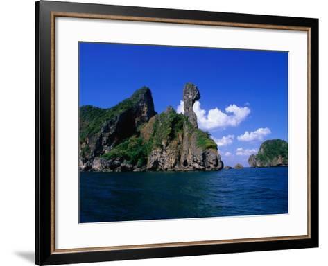 Chicken Island (Koh Hua Khwan), Ao Nang, Thailand-Nicholas Reuss-Framed Art Print