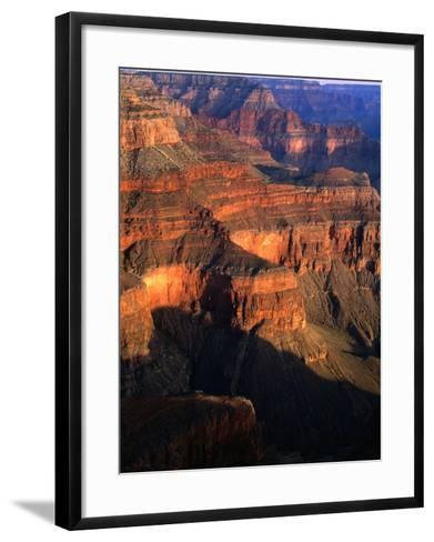 Canyon at Pima Point, Grand Canyon National Park, USA-John Elk III-Framed Art Print