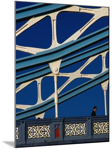 Tower Bridge's (1894) Neo-Gothic Architecture, London, England-Setchfield Neil-Mounted Photographic Print