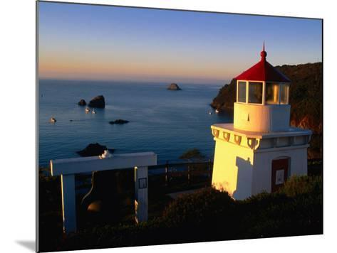 Trinidad Head Lighthouse, Trinidad, California, USA-Stephen Saks-Mounted Photographic Print