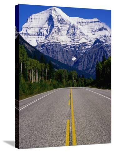 Road Leading to Mt. Robson, Rocky Mountains, Mt. Robson Provincial Park, Canada-Philip Smith-Stretched Canvas Print