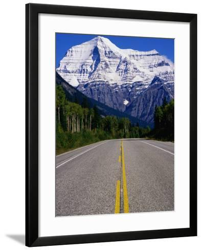 Road Leading to Mt. Robson, Rocky Mountains, Mt. Robson Provincial Park, Canada-Philip Smith-Framed Art Print