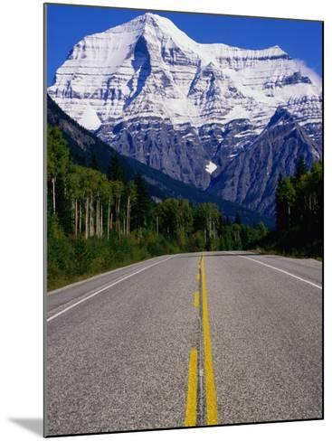 Road Leading to Mt. Robson, Rocky Mountains, Mt. Robson Provincial Park, Canada-Philip Smith-Mounted Photographic Print