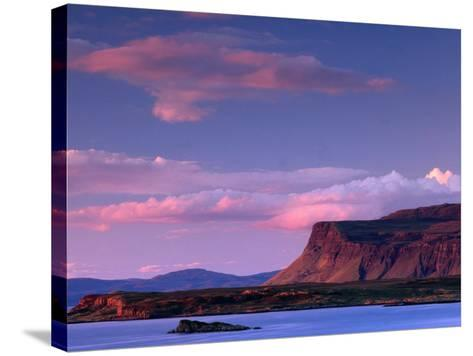 Lake from Near Bunessan, Loch Scridain, United Kingdom-Andrew Parkinson-Stretched Canvas Print