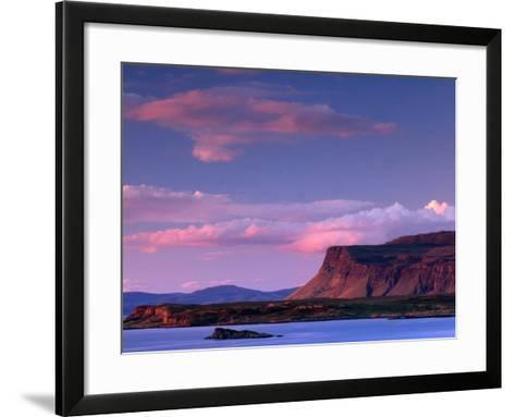 Lake from Near Bunessan, Loch Scridain, United Kingdom-Andrew Parkinson-Framed Art Print