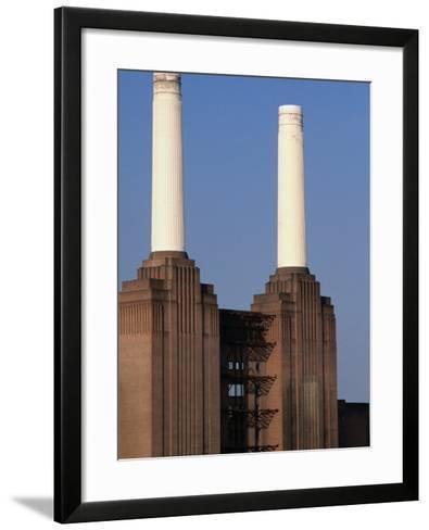 The Battersea Power Plant - London, England-Doug McKinlay-Framed Art Print