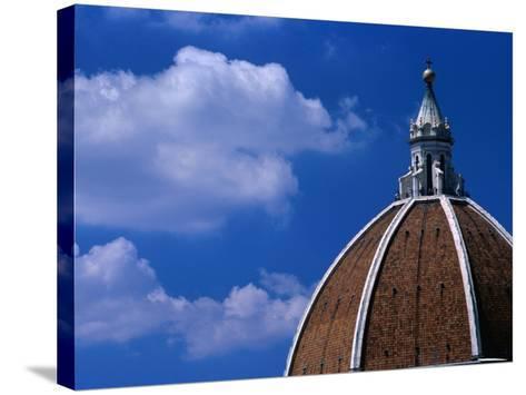 Dome of Il Duomo (Santa Maria Del Flore), Florence, Tuscany, Italy-Dallas Stribley-Stretched Canvas Print