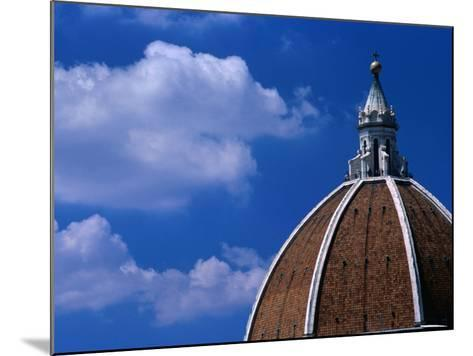 Dome of Il Duomo (Santa Maria Del Flore), Florence, Tuscany, Italy-Dallas Stribley-Mounted Photographic Print