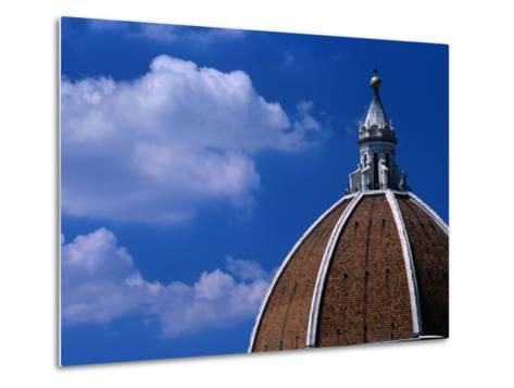 Dome of Il Duomo (Santa Maria Del Flore), Florence, Tuscany, Italy-Dallas Stribley-Metal Print