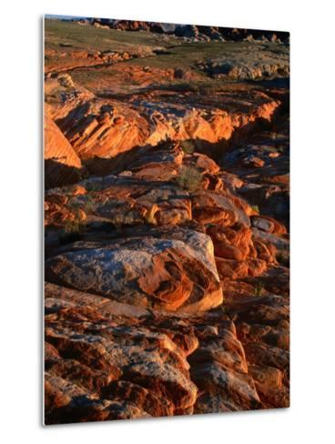 Valley of Fire State Park, Nevada's Oldest State Park, Valley of Fire State Park, Nevada, USA-Carol Polich-Metal Print