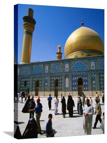 Ali El Hadi Mosque, Samarra, Salah Ad Din, Iraq-Jane Sweeney-Stretched Canvas Print