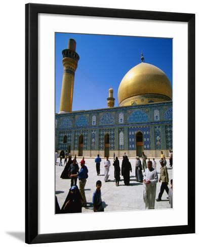 Ali El Hadi Mosque, Samarra, Salah Ad Din, Iraq-Jane Sweeney-Framed Art Print