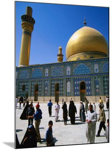 Ali El Hadi Mosque, Samarra, Salah Ad Din, Iraq-Jane Sweeney-Mounted Photographic Print