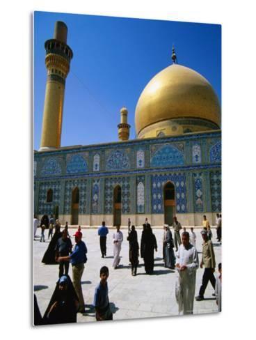 Ali El Hadi Mosque, Samarra, Salah Ad Din, Iraq-Jane Sweeney-Metal Print